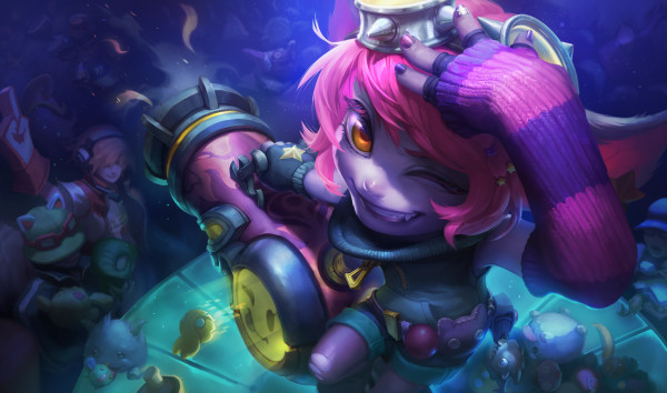 tristana riot girl splash