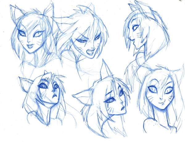 ahri exploration early facial expression 600x460