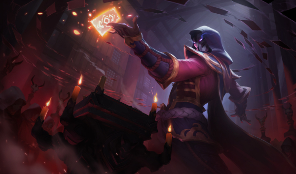 BloodMoon TwistedFate SplashArt
