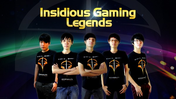 Insidious Gaming Legends