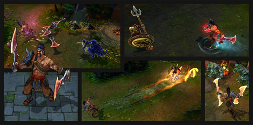 Draven Gladiator_Comic