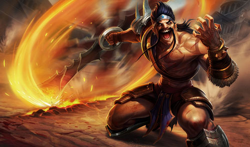 Draven Gladiator_splash