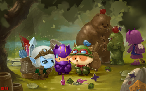 teemo trainning day