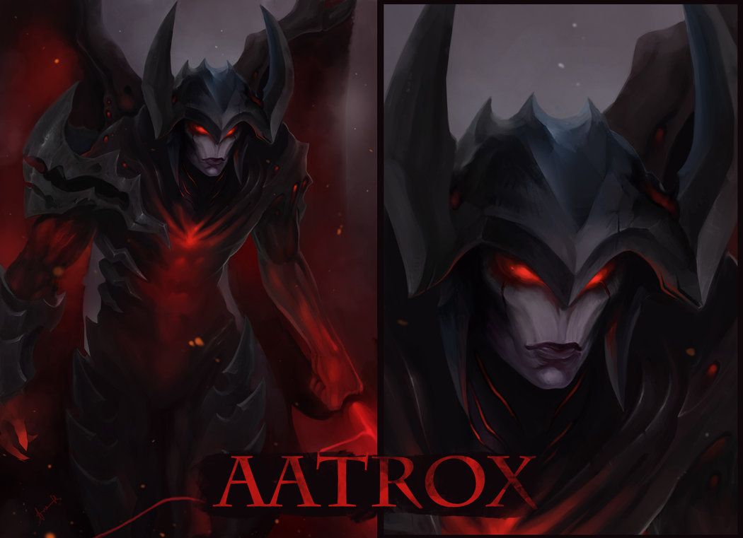 aatrox leauge of legends by leekent-d6jnhvv