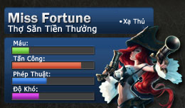 danh-sach-tuong-xoay-tua-tuan-76-miss-fortune
