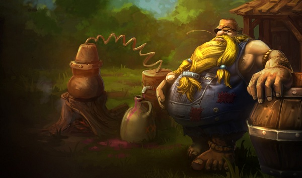 Gragas Splash 2