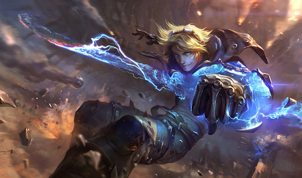 Ezreal Splash 0