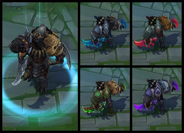 Rengar Headhunter chromas